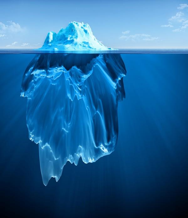 Isbjerg og følelser
