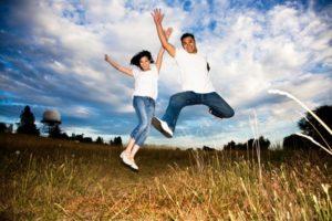 Glad og lykkelig i parforholdet