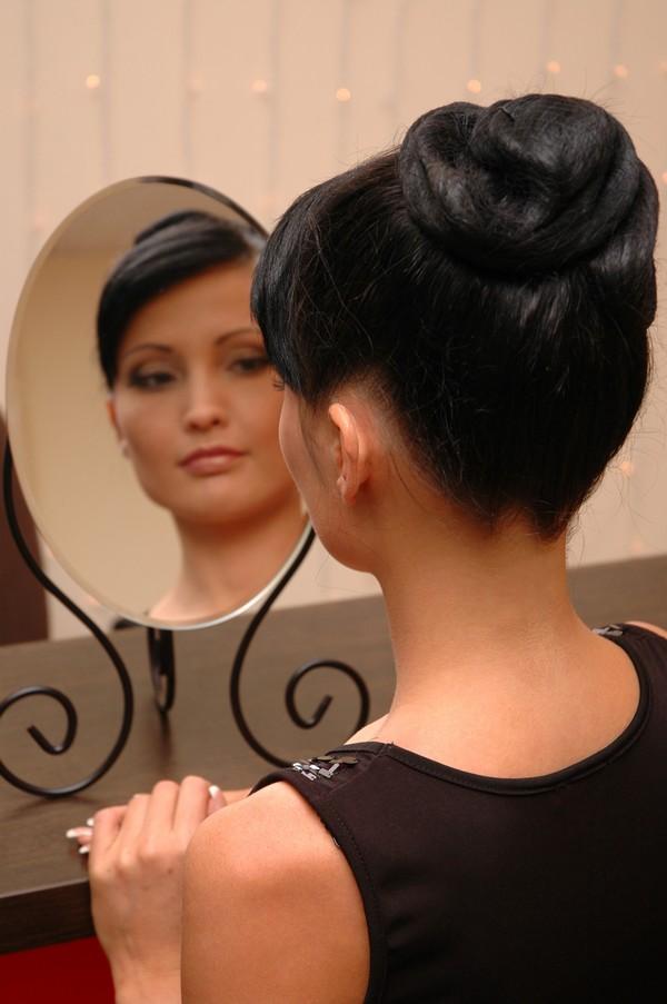 At se sig selv i spejlet