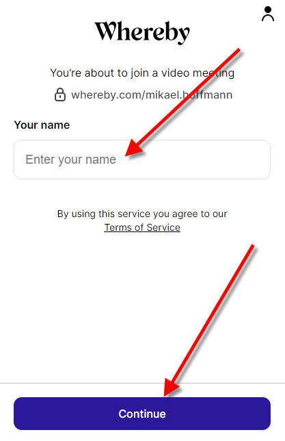 WhereBy online parterapi
